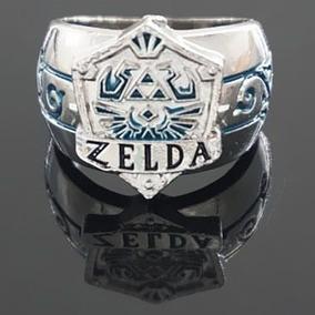 Anel A Lenda De Zelda Metal Masculino/feminino