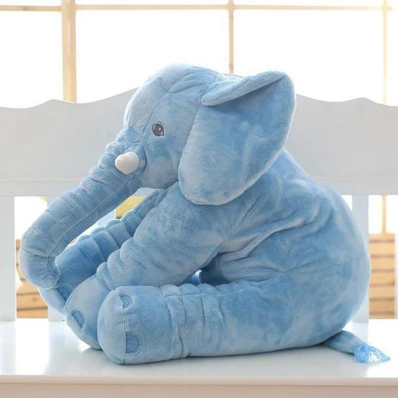 Peluche Almohada Elefante Gigante Calidad 65cm Bebés