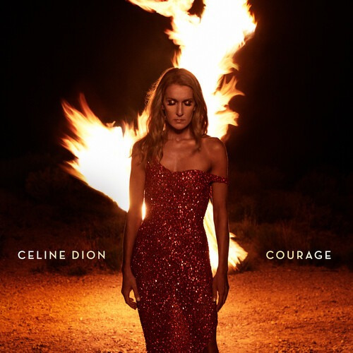 Celine Dion Courage Cd Us Import