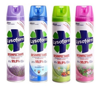 Desinfectante Lysoform Aerosol 360 Cm