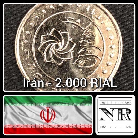 Iran - 2000 Rial - 1391 (2012) - Km #1288 - Plan Maestro