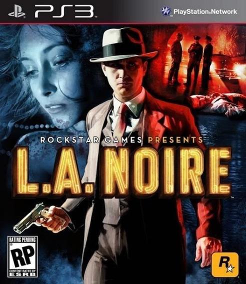 L.a. Noire (mídia Física) - Ps3