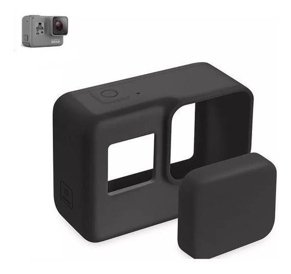 Capa Case Protetora De Silicone - Gopro Hero 5 Black