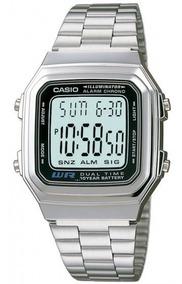 Relógio Casio A-178wa-1adf Digital Cronógrafo - Refinado