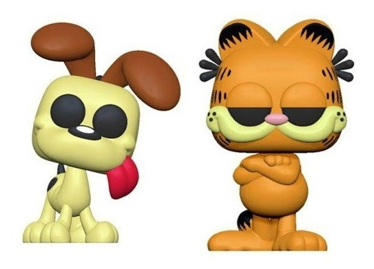 Funko Figura Pop! Comics Garfield Y Odie
