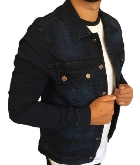 Jaqueta Blusa Masculina Slim Marrom Militar Casaco 6 Bolsos