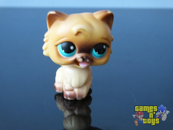 Littlest Pet Shop Lps Gato Siames Raro!