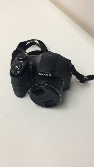 Câmera Sony Dsc H100 16.1mp Sd 8gb