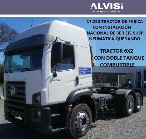 Volkswagen 17-250 Constellation Tractor 6x2 Doble Eje + Iva
