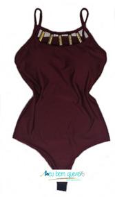 fb0ecc2e3a Blusa Body Feminino Tirinhas Suplex Collant Bojo Decote