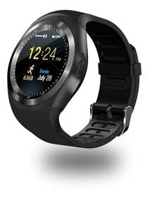 Relógio Inteligente Smartwatch Y1 Bluetooth Android E Ios