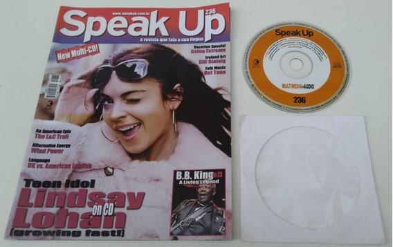 Revista Speak Up 236 Lindsay Lohan Para Estudar Inglês.