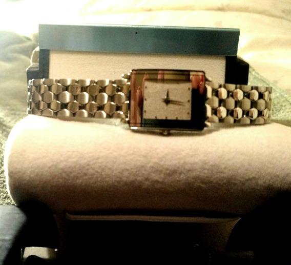Relógio Fem Rado Suíço, Com Pontos De Brilhante Lindo !!!!!