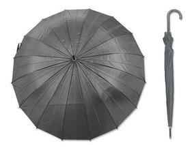 6 Paraguas Colores Lluvia 16 Varillas + Envío / Barbazar