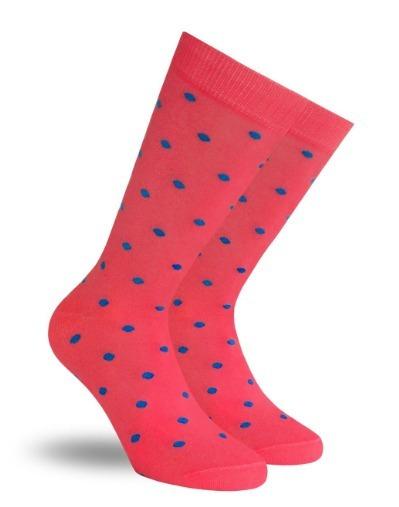 Calcetines Coral Skunk Socks Con Puntos De Colores