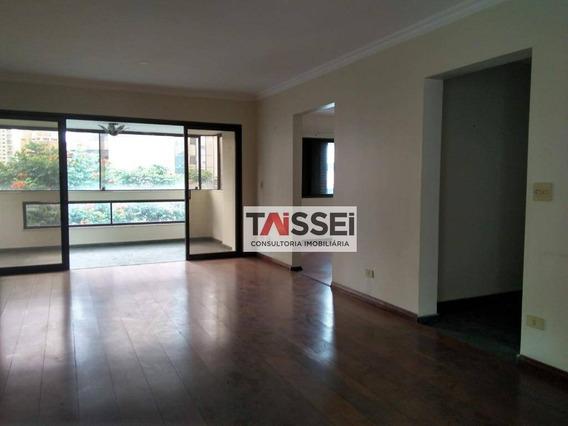 Apartamento Para Alugar, 242 M² Por R$ 6.000,00 - Moema - São Paulo/sp - Ap5076