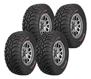 Pack 4 Llantas 35x12.50r17 121q General Tire Grabber X3