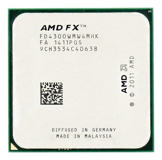 Processador AMD FX 4300 Black Edition 4 núcleos