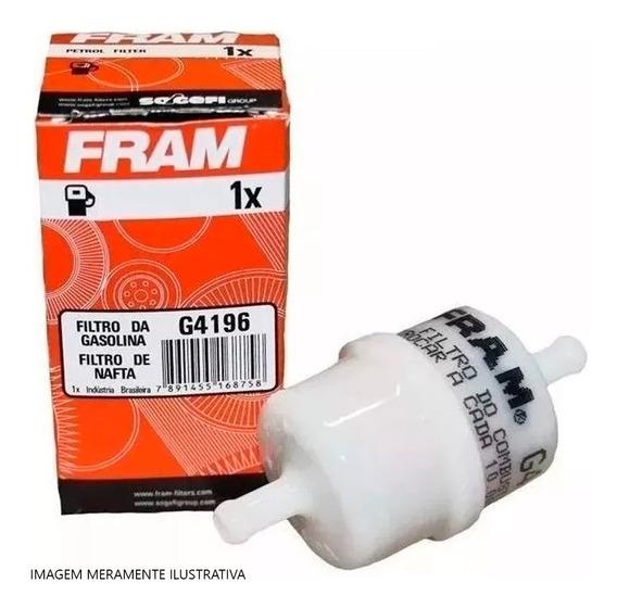 Filtro Combustivel Fram Universal P/motos Carburada