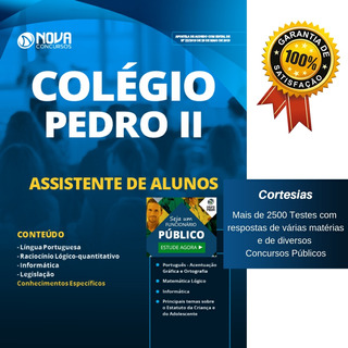 Apostila Colégio Pedro 2 Rj 2019 - Assistente De Alunos