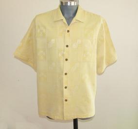 Jamaica Jaxx Camisa Hawaiiana 100% Seda Talla L