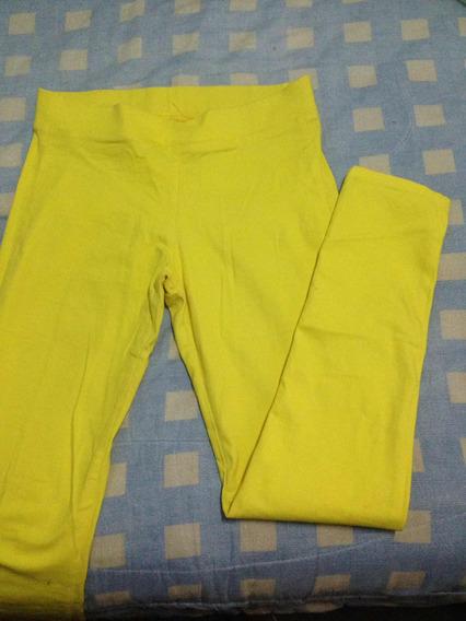 Pantalón Amarillo Tipo Leggins