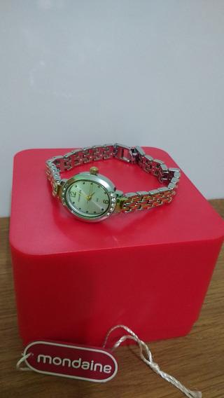 Relógio Feminino Mondaine Original Alto Luxo Frete Grátis