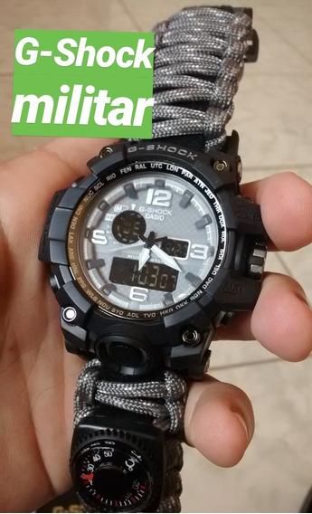 Relógio Casio G-shock Da Sobrevivência Masculino Militar 8x1