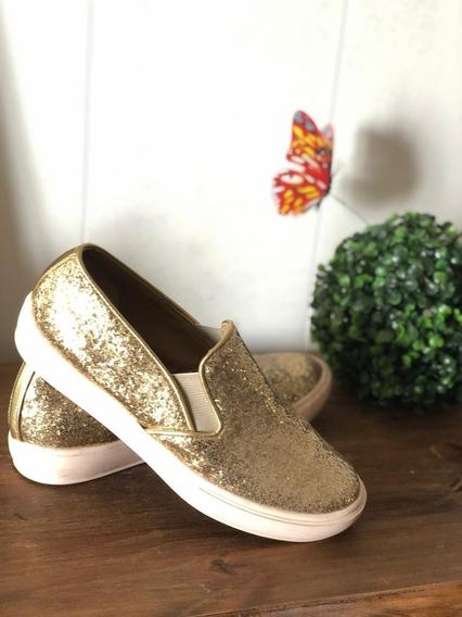 Panchas/zapatillas Mujer, Glitter
