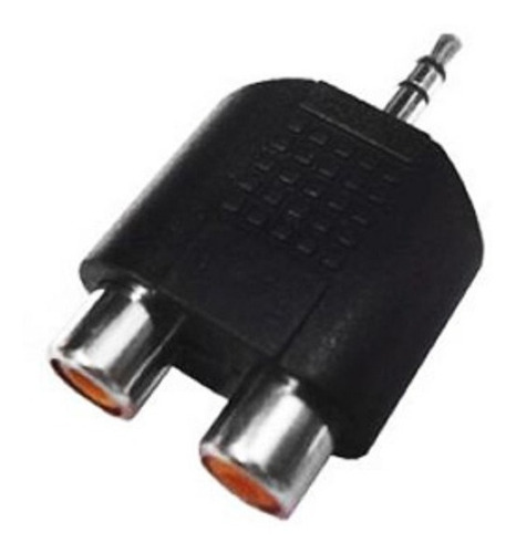 Imagen 1 de 1 de Adaptador Plug 3.5 Stereo A 2 Hembras Rca