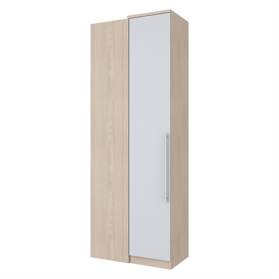 Guarda Roupa De Canto 1 Porta Fendi Ii/branco M304-26 Henn