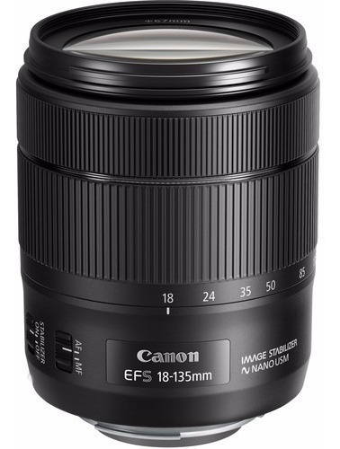 Canon 18-135mm Ef-s F/3.5-5.6 Is Nano Usm - Temos Loja