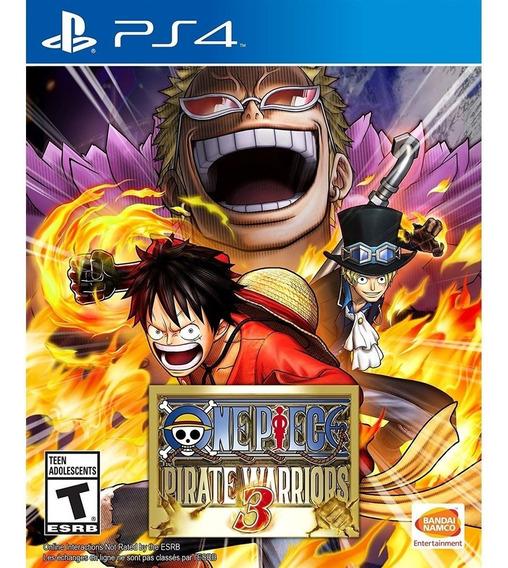 Ps4 One Piece Pirate Warriors 3 Psn