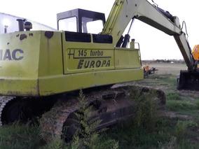 Excavadora Hydromac 145 Europa Con Joystick Muy Buena Oport!