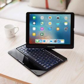 Capa 360°teclado Iluminado iPad Air Pro New iPad 6 2018 9.7.