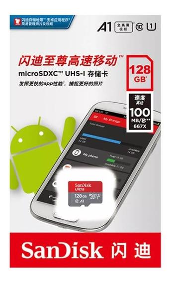 Sandisk Ultra Plus Micro Sdxc Classe10 U3 100mb/s 4k 128gb