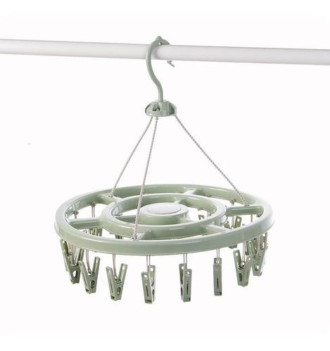 Colgador De Calcetines Circular Tendedero Tender De 12 Clip