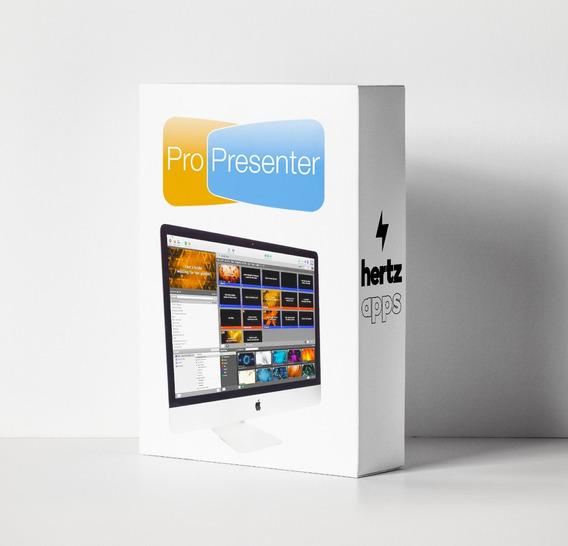 Propresenter 6.3 Versión 2019 Win Mac - Envio Inmediato!