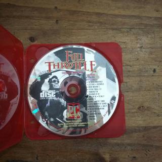 Juego De Pc Full Throttle Cd-rom (cds2)