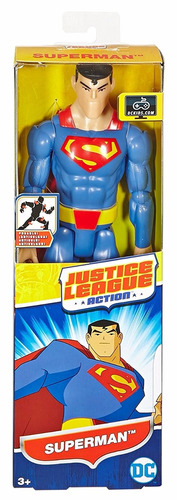 Dc Comics Liga Da Justiça Action - Superman - Mattel