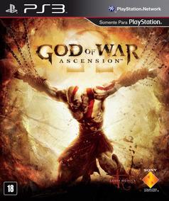 God Of War Ascension Ps3 Ptbr A Pronta Entrega Midia Digital