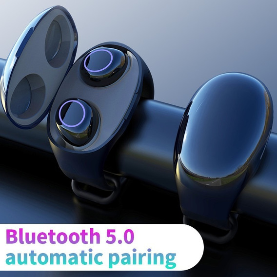 Hm50 Tws Bluetooth 5.0 Earbuds Azul