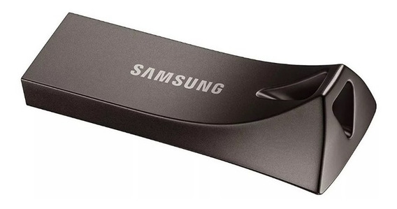 Pendrive Samsung Bar 64gb Plus+ Usb 3.1 200mbp/s Flash Drive