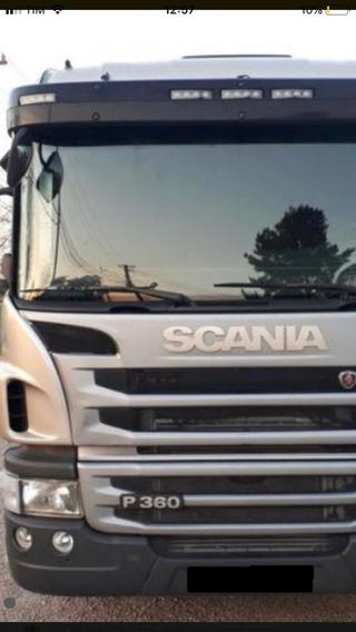 Scania P 360 6 X 2 2013 Aut. Comp. Único Dono