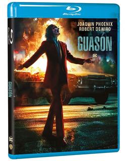 Joker Guason Dc Comics Joaquin Phoenix Pelicula Bluray