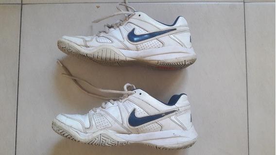 Zapatillas De Tenis Nike City Court Talle 7 Us Muy Buen Est
