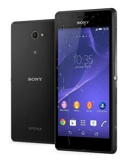 Celular Sony Xperia M2 Normal D2306 Vitrine Preto Original
