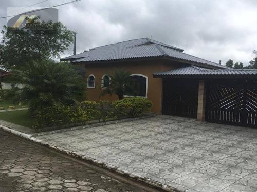 Imagem 1 de 30 de Casa Com 5 Dormitórios À Venda, 400 M² Por R$ 1.350.000 - Boungaiville - Peruíbe/sp - Ca0325