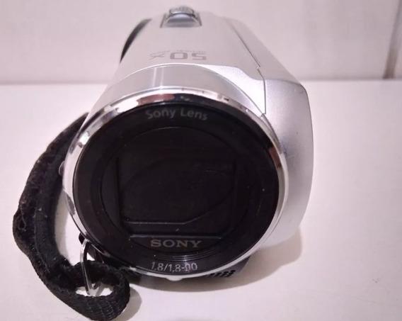 Filmadora Sony Dcr-sx20 - Zoomóptico De 50x E Digital 1800x