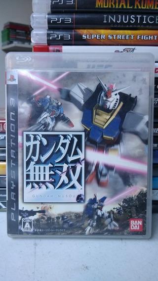 Gundam Musou Mídia Física Playstation 3